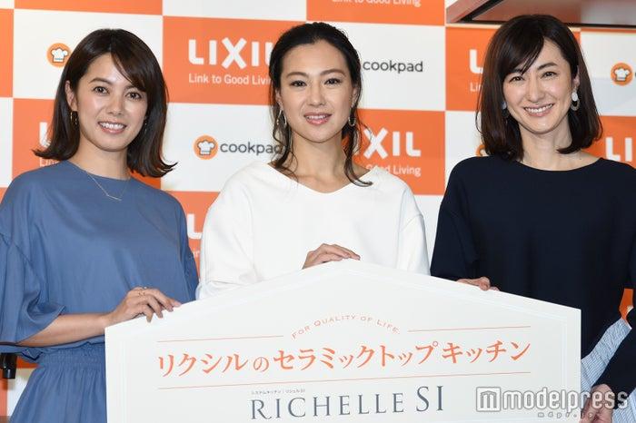 (左から)中林美和、堂珍敦子、前田ゆか(C)モデルプレス