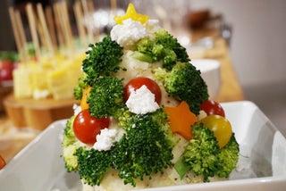 彼が喜ぶ!クリスマスムード満点なツリーポテトサラダ