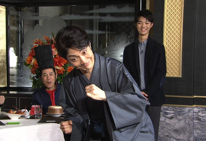 野村萬斎(C)日本テレビ