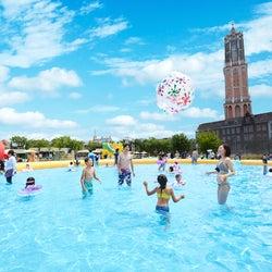 ハウステンボス「水の王国」事前予約制でプール営業