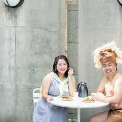 うさまりあ、大西ライオン(C)「la farfa」7月号/発行:ぶんか社/写真:小川健(WILL CREATIVE)