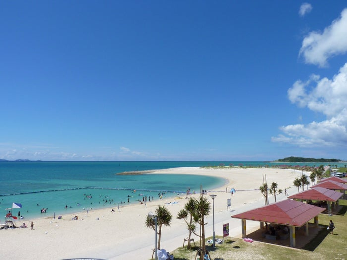 当初の開催予定地だった沖縄・豊崎美らSUNビーチ(提供写真)