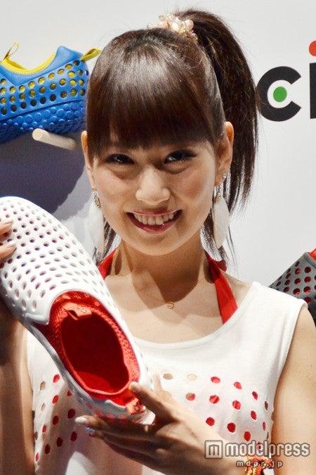 ファッションショー「ccilu collection 2013」に登場した増田有華
