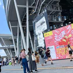 「マイナビ presents 第29回 東京ガールズコレクション 2019 AUTUMN/WINTER」外観(C)モデルプレス