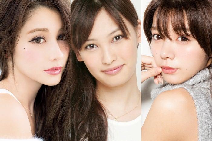 「TGC北九州2016」の開催決定(左から)ダレノガレ明美、大政絢、池田エライザらが出演