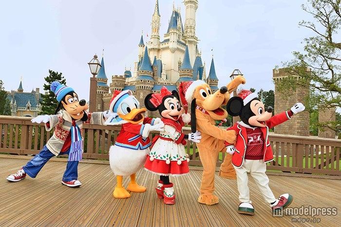 パレード「ディズニー・クリスマス・ストーリーズ」のコスチューム(C)Disney