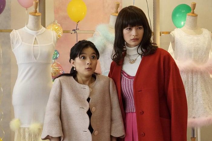 芳根京子、瀬戸康史/「海月姫」第8話より(C)フジテレビ