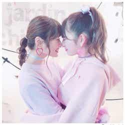 モデルプレス - NMB48吉田朱里&渋谷凪咲、ハグ&鼻キスにファン悶絶「可愛すぎ」「これは反則」