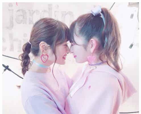 NMB48吉田朱里&渋谷凪咲、ハグ&鼻キスにファン悶絶「可愛すぎ」「これは反則」