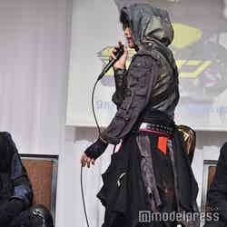 「滅亡迅雷.net」衣装のこだわりをアピールする中川大輔 (C)モデルプレス