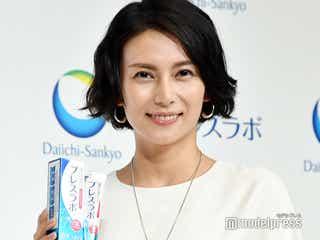 柴咲コウ、キスシーン前の冷や汗エピソードを披露 相手役俳優に感動