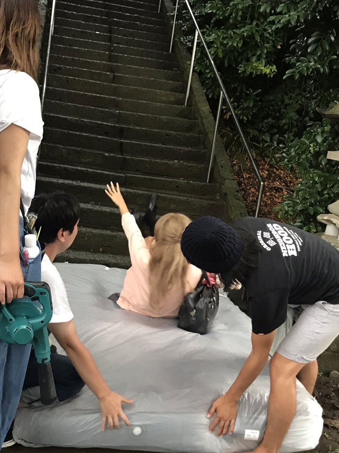 なちょす/メイキングカット(提供写真)