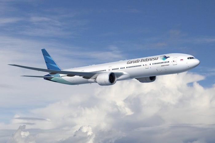 ガルーダ・インドネシア航空機/画像提供:ガルーダ・インドネシア航空