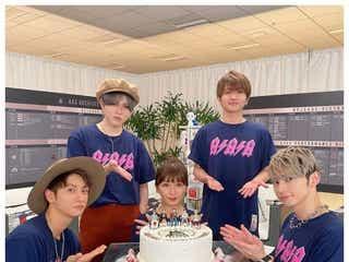 AAA、デビュー15周年を5人揃って祝福「どんな時も応援し続けてくれて本当にありがとう」