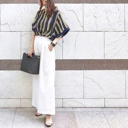 夏に着心地のいい服って? サラッと着られる夏服コーデカタログ