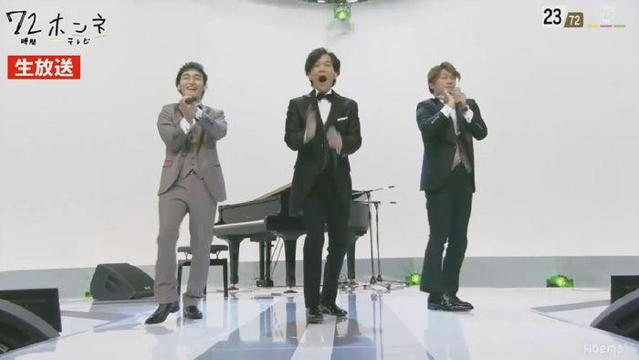 稲垣・草なぎ・香取ノンストップで72曲メドレー(C)AbemaTV