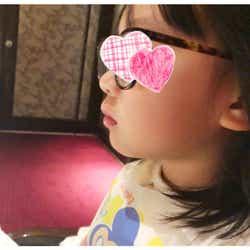 加護亜依の娘の写真/加護亜依オフィシャルブログ(Ameba)より