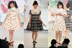 NMB48渡辺美優紀・吉田朱里・太田夢莉、堂々ランウェイで女子歓声<関コレ2016S/S>
