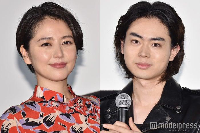 主演賞を受賞した長澤まさみ、菅田将暉 (C)モデルプレス
