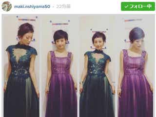 西山茉希、胸元SEXYドレスで3年ぶり「ベストヒット歌謡祭」MC復帰「数ヵ月の緊張感から解き放たれた」