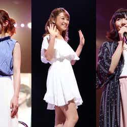 鈴木奈々、くみっきー、武田玲奈がファッションショーでランウェイに登場