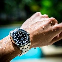 腕時計の防水性能とは?お役立ちの知識からおすすめ定番モデルまで