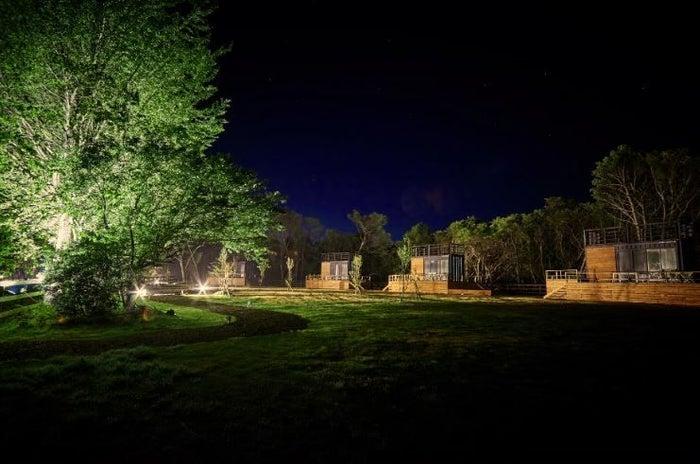 FARMGLAMPING なめがたファーマーズヴィレッジのファームグランピング/画像提供:白ハト食品工業
