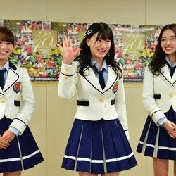 NMB48村瀬紗英&磯佳奈江&上西怜、初の試みへ意気込み