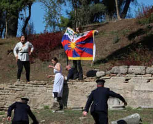 【北京五輪】聖火採火式は成功! 中国メディは抗議活動に〝ノータッチ〟