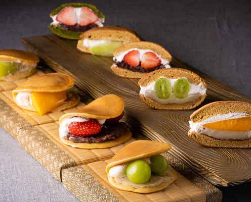 恵比寿に和風フルーツパーラー「EBISU 青果堂」フルーツどら焼きや夏限定パフェ提供