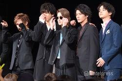 (左から)岩谷翔吾、浅香航大、横浜流星、中尾暢樹、瀬戸利樹(C)モデルプレス