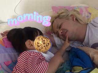 """りゅうちぇる「リンクとママが起こしてくれた」""""幸せな朝""""写真公開"""