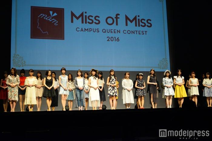 Miss of Miss出場者(C)モデルプレス