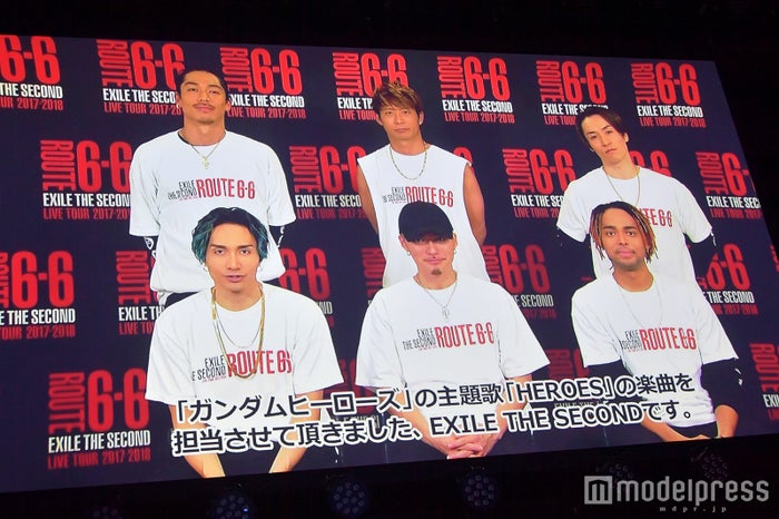EXILE THE SECOND(C)モデルプレス