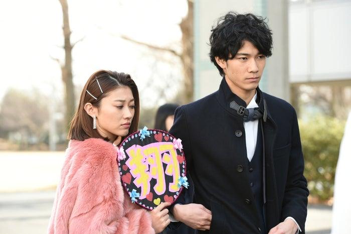 原幹恵、清原翔(C)TBS