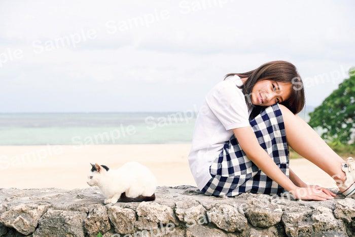 秋元真夏/撮影:倉本GORI(発売:竹書房)書店限定ポストカード/くまざわ書店