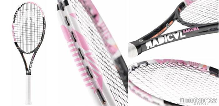「可愛い」と「機能性」が両立したテニスラケット「HEAD GRAPHENE XT RADICAL SAKURA」