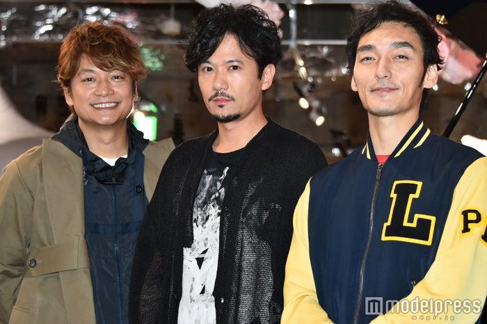 香取慎吾、稲垣吾郎、草なぎ剛 (C)モデルプレス