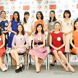 モデルプレス - 「ミス日本2019」ファイナリスト13名お披露目 東大・慶大・青学大などから才女が集結