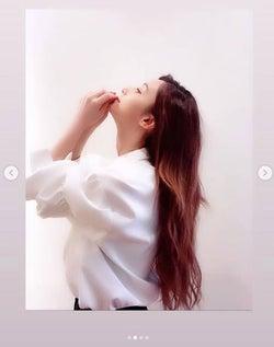 """モデルプレス - ダレノガレ明美、""""期間限定""""スーパーロングにヘアチェンジ"""