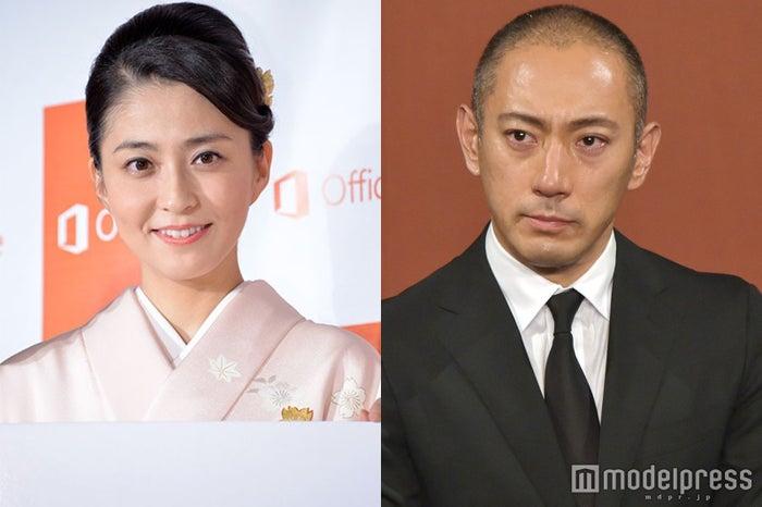 小林麻央さんの四十九日を報告した市川海老蔵(C)モデルプレス
