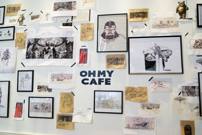 「スター・ウォーズ」OH MY CAFE(C)& TM Lucasfilm Ltd.