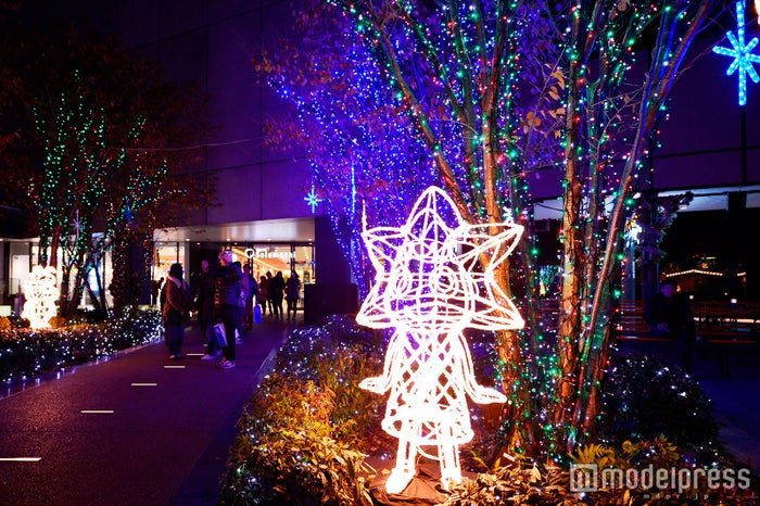 東京スカイツリータウン(R)のイルミネーション(昨年の様子)(C)TOKYO-SKYTREETOWN