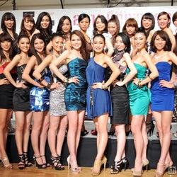 「2012 ミス・ユニバース・ジャパン」ファイナリスト26名決定 極上美女が集結