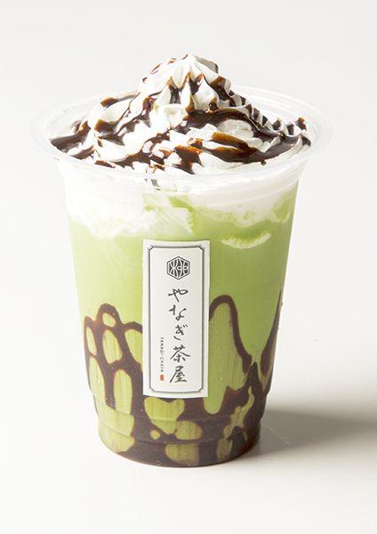 抹茶チョコレートラテ(温・冷)¥650/画像提供:クリエイト・レストランツ