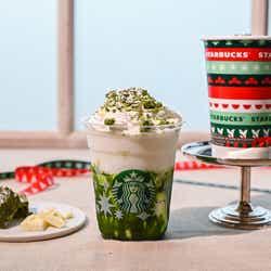 モデルプレス - 【スタバ新作】全抹茶好きの心くすぐる、積雪フラペチーノ®!レアすぎる限定カスタマイズも開始