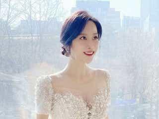 新婚旅行中にダイヤの指輪失くすもポジティブ チョ・ミナ「一生の…」