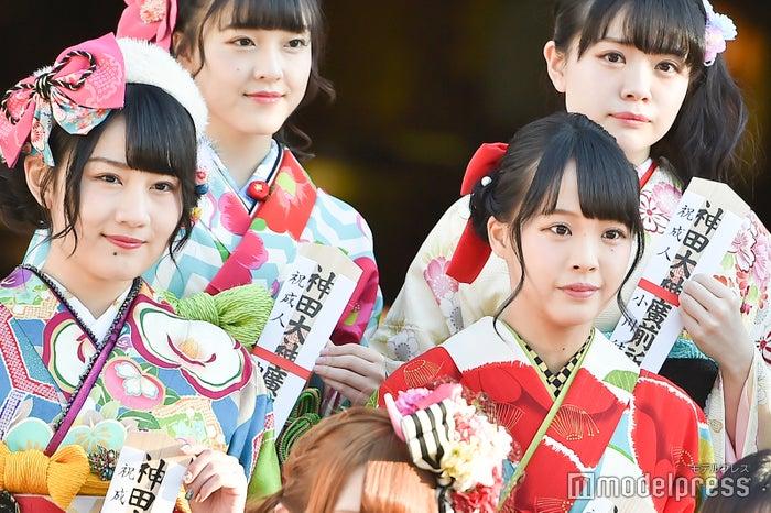 久代梨奈、福田朱里/AKB48グループ成人式記念撮影会 (C)モデルプレス