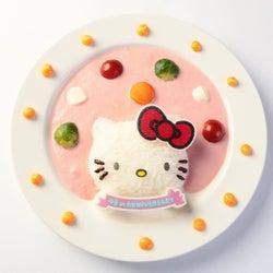 「ハローキティカフェ」可愛らしいキティがたっぷり楽しめるフード満載