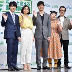(左から)吉沢亮、木村多江、西島秀俊、渡辺直美、リリー・フランキー(C)モデルプレス